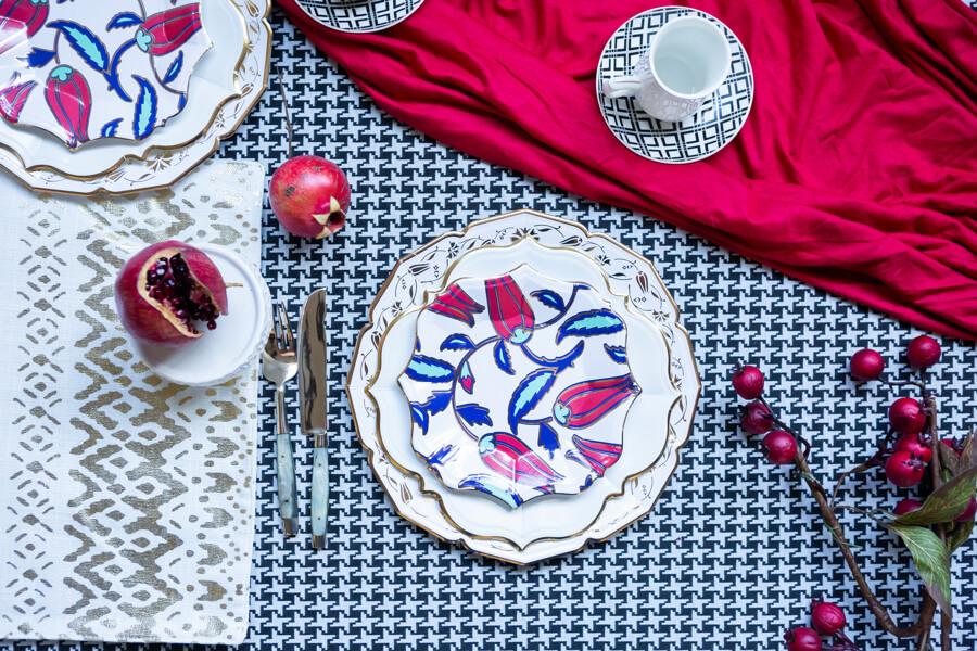 Turkish Dessert Plates (case of 12)