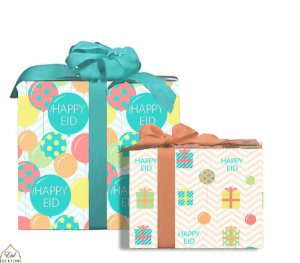 Eid Party Gift Wrap (case of 12)